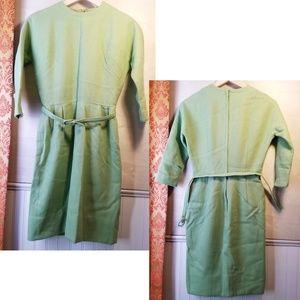 Vintage 60s   Bobbie Brooks, 100% wool dress